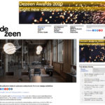 Webマガジン掲載:dezeen (海外)