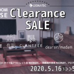 *Clearance SALE ~ 5/24(日)まで*
